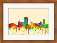 Boston Mas .Skyline-SG Fine Art Print