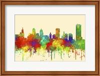 Buffalo New York Skyline-SG Fine Art Print