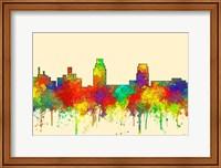 Camden New Jersey Skyline-SG Fine Art Print