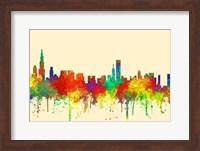 Chicago Illinois Skyline-SG Fine Art Print