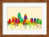 Cincinnati Ohio Skyline-SG Fine Art Print