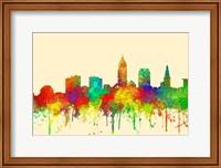 Cleveland Ohio Skyline-SG Fine Art Print