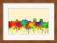 Colorado Springs Colorado Skyline-SG Fine Art Print