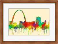 Gateway Arch St Louis Missouri Skyline-SG Fine Art Print