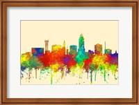 Lincoln Nebraska  Skyline-SG Fine Art Print