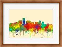 Long Beach California Skyline-SG Fine Art Print