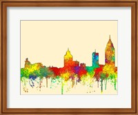 Mobile Alabama Skyline-SG Fine Art Print