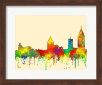 Mobile Alabama Skyline-SG Fine Art Print