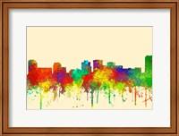 Norfolk Virginia Skyline-SG Fine Art Print