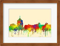 Roanoke Virginia Skyline-SG Fine Art Print