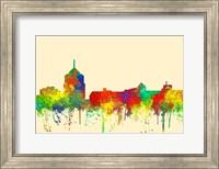 Roanoke Virginia Skyline-SG Fine Art Print