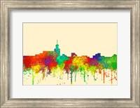 Santa Fe New Mexico Skyline-SG Fine Art Print