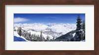 Ski Slopes in Sun Valley, Idaho Fine Art Print