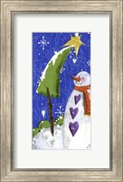 Snow Letters Fine Art Print