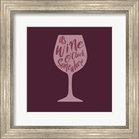Wine O'Clock Fine Art Print