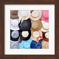 Hats on a Rack Fine Art Print