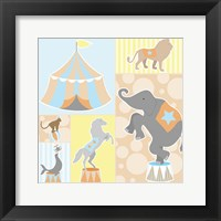 Baby Big Top III Blue Fine Art Print