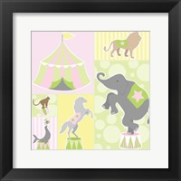 Baby Big Top III Pink Fine Art Print