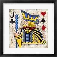 Jack of Clubs Fine Art Print