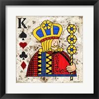 King of Spades Fine Art Print