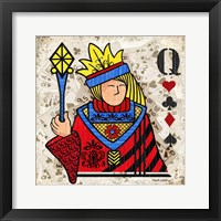 Queen of Hearts Fine Art Print