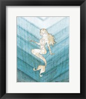 Coastal Mermaid II Fine Art Print