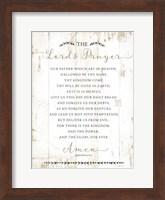 The Lord's Prayer Fine Art Print
