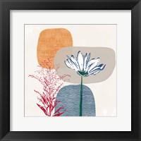 Modern Fall Floral II Fine Art Print