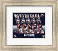 New England Patriots 2017 Team Composite Fine Art Print