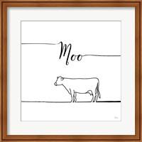 Underlined Farm VII Fine Art Print