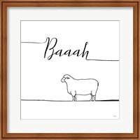 Underlined Farm VI Fine Art Print
