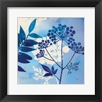Blue Sky Garden I Fine Art Print