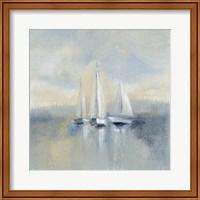 Morning Sail I Blue Fine Art Print
