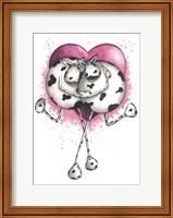 Udderly In Love Fine Art Print