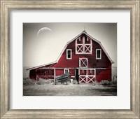 Luna Barn Fine Art Print