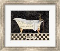 French Bathtub I Fine Art Print