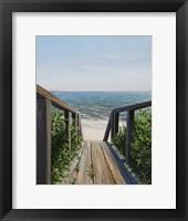 Beach Walk Way Fine Art Print