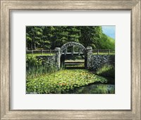Garden Bridge Fine Art Print