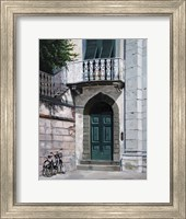 Green Door Fine Art Print