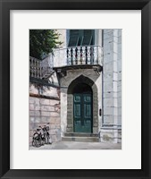 Green Door Fine Art Print