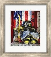 Symbols Of Heroism Fine Art Print