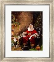 Santas Treats Fine Art Print