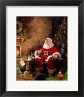 Santas Treats Fine Art Print