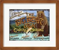 Big Bear Den Fine Art Print