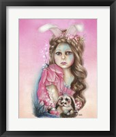 Bunny - Only Friend in the World Fine Art Print