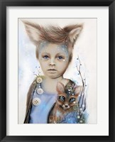A Boy and his Fox - Only Friend in the World Fine Art Print