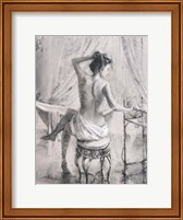 After The Bath Fine Art Print