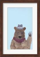 Hipster Bear Fine Art Print