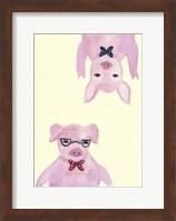 Hipster Pigs Fine Art Print