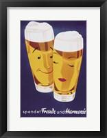 Female Male Beer Fine Art Print